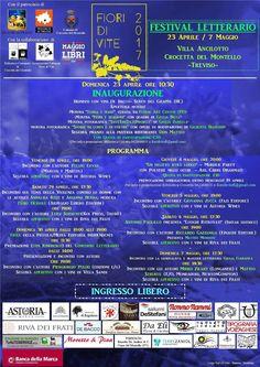 [eventi] - Al via la Prima edizione del Festival Letterario Fiori di Vite a Crocetta del Montello (Treviso)