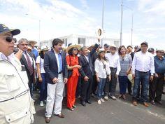 AREQUIPA. Mira esta crónica de cómo fue la inauguración del Puente Chilina ¿Qué pasó en verdad