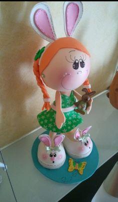 Muñecos de goma eva