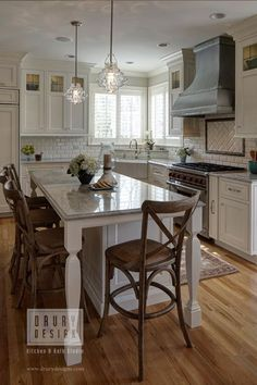 large kitchen islands with seating for six | Option #7 - table end ...