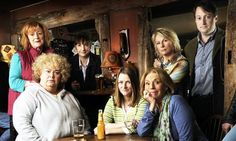 Jam and Jerusalem -comedy about a ladies church group. Dawn French, Jennifer Saunders, Joanna Lumley and David Mitchell Comedy Tv Shows, Movies And Tv Shows, Favorite Tv Shows, Favorite Things, Jennifer Saunders, Dawn French, David Mitchell, Tv Ratings, Joanna Lumley