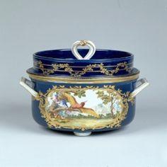 Tableware: A Pair of Sèvres Sorbet Coolers, 1765