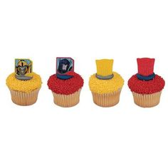 Transformers Mission Complete Cupcake Rings  24 pc >>> You can get more details by clicking on the image.