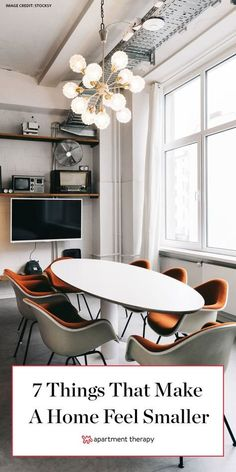 This 7 things can make a home feel so much smaller. Here's how to maximize your space. #smallspaces #smallspaceideas #designtips #designhacks