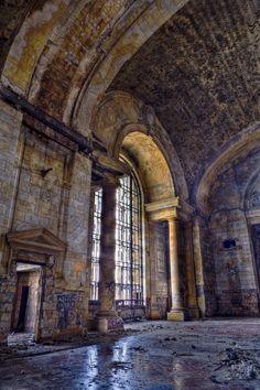 detroit train station ruins - Google Search
