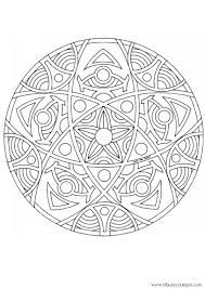 Dont Eat the Paste mandala to color  Mandalas  Pinterest