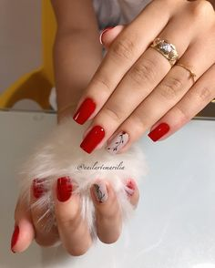 Fotos de Adesivos de unhas com flores Ny Nails, Coffin Nails, Avon Nails, Almond Acrylic Nails, Manicure E Pedicure, Beautiful Nail Designs, Nail Arts, Hair And Nails, Beauty Hacks