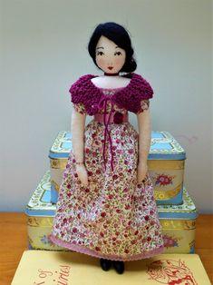 Rag Dolls, Little Darlings, Softies, Attic, Vintage Inspired, Snow White, Disney Princess, Artwork, Handmade