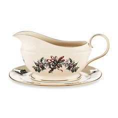LENOX Winter Greetings Gravy Boat with Stand $165 * BEST PRICE GUARANTEE * FREE WORLD SHIPPING OR PICK UP AVAILABLE * www.brightonmelvin.com