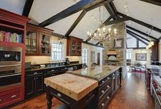 turn it into a galley kitchen with exposed beams and open into the dining room?? (now we're getting all crazy.)