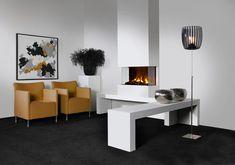 Faber: Elektrische haarden > Built-in > 3 Step Opti-myst Eco Energie, Saumur, Electric Fires, Modern Loft, Electric Fireplace, Living Room With Fireplace, Decoration, Interior And Exterior, Foyer