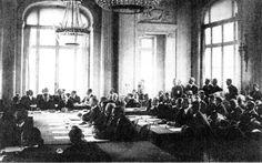 """""""Tratado de Versalhes"""". * Palácio de Versalhes * I Grande Guerra."""