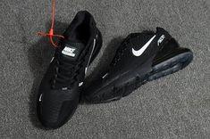 newest 9386d b9dbf Nike Air Max Flair 270 KPU Black/White Men's Running Shoes. Schwarz Und  WeißHerren LaufschuheLaufschuhe Für MännerSchuhe ...