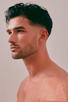 Men Haircut Curly Hair, Male Haircuts Curly, Wavy Hair Men, Guys Haircuts Fade, Thick Hair Men, Hair Cut Man, Men's Hair Long, Short Hair For Men, Man Haircut Medium