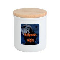 Halloween Night Cookie Jar