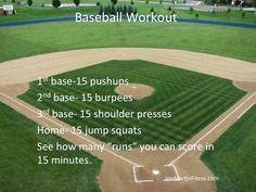 Baseball Workout