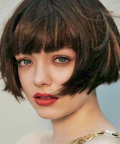 Before / After: Wow, you look pretty damn Vorher/Nachher: Wow, ihr seht ja verdammt gut aus! Before and after hairstyles: Wow, you look pretty damn good! Curly Bob Hairstyles, Trending Hairstyles, Easy Hairstyles, Curly Hair Styles, Hairstyle Short, Hairdos, Great Hair, Hair Designs, Short Hair Cuts