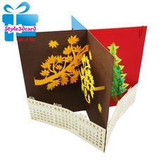 Desk Calendar 2 3d pop up card