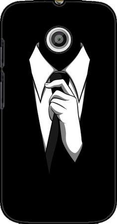 Case Mr Black for Motorola Moto E