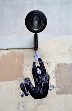 Artista urbano francés, Levalet