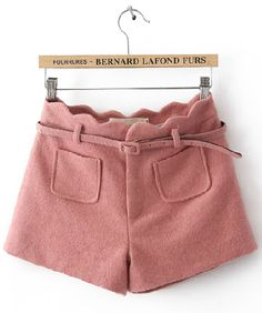 #chicnova                 #Clothing                 #Pink #Twin #Patch #Pockets #Shorts #with #Scalloped #Trim #Waist             Pink Twin Patch Pockets Shorts with Scalloped Trim Waist                                                http://www.seapai.com/product.aspx?PID=4844891