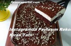 Instagramda Paylaşım Rekoru Kıran Tatlı Turkish Recipes, Ethnic Recipes, Chocolate Turtles, Turkish Delight, Holidays And Events, Tiramisu, Deserts, Food And Drink, Sweets