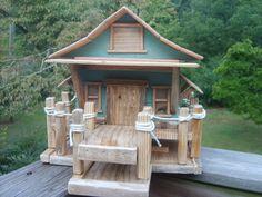 Fishing Shack Pallet Birdhouse