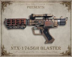 Customized Steampunk Nerf Guns - Part 10 ~ the idea can