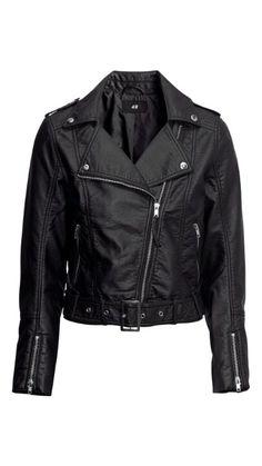 H biker jacket