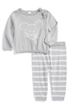 Nordstrom Baby Knit Sweater & Pants (Baby Boys) (Nordstrom Exclusive) available at #Nordstrom