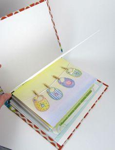 A greeting card book.