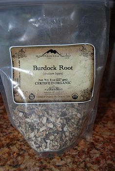 Inexpensive, Gentle, Cleansing Herbs (some of the strongest cleansers/detox herbs) ...----------------------------------------------Dandelion and  Burdock root teas, you have to wonder, what would this taste like?