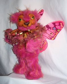 CUSTOM HAPPINESS OOAK 16inch FAIRY BEAR by shellylampshire on Etsy, $275.00
