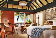 A room with a view... of the South Pacific-