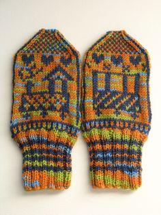 Tuut Tuut mittens knit....ravelry freebie