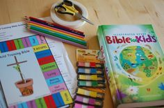 Review of Child Training Bible kit.  I'm super-intrigued to use this as a tool to get my kids into the Bible!