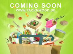 PacknWood Branding / Flyer on Behance