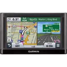 Garmin nuvi 56LMT Automobile Portable GPS Navigator - 5 - Speaker, TMC Traffic Receiver - microSD - Turn-by-turn Navigation, Lane Assist, Junction View, Voice Prompt - USB - 2 Hour - Preloaded Maps - Lifetime Map Updates - Lifetime Traffic Updates -