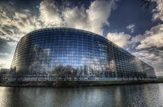 Le Parlement Européen   Strasbourg - France