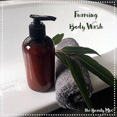 {Thermomix Recipe} Foaming Body Wash
