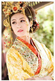 画像 : 【写真資料集】漢民族の民族衣装「漢服」:女性 - NAVER まとめ