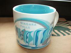 Starbucks City Mug You are here Tasse Becher Cup Niagara Falls USA 14oz NEU