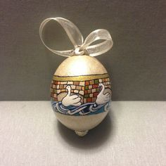 Easter wedding gift ideas hand painted egg by paintedeggs on etsy chicken egg hand painted easter easter gift by paintedeggs on etsy negle Image collections
