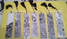 My first bookmarks. #zentangle #tangle #bookmark #mandala