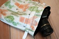 DSLR Camera Bag - Camera Bags for Women - Gifts for Wedding Photographer - Birthday Gift - Camera Strap - Loredo Cactus