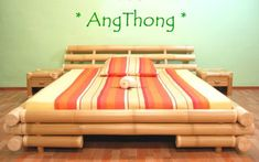 Bamboo Bed, View Bamboo bed, AngThong Product Details from BAMBUS-LOUNGE on Alibaba.com Buy Bamboo, Bamboo Art, Bamboo House, Bamboo Furniture, Lounge, Storage, Beach Houses, Design, Home Decor