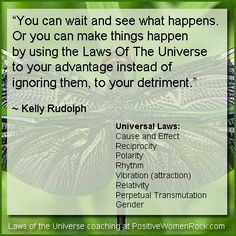 The Laws of the Universe are the ONLY laws that are enforced 100% of the time. Learning how to use them is priceless! http://PositiveWomenRock.com/gift for Free Life Strategies #inspiration #motivation #quote #positive