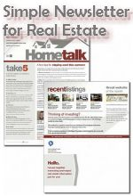 Looking for an easy way to create a relevant, printable, and nice looking real estate newsletter?