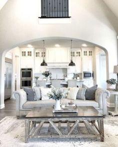 Marvelous Farmhouse Style Living Room Design Ideas 8