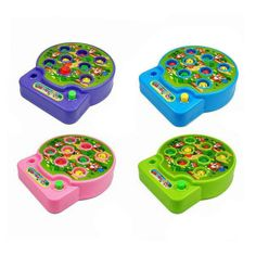 Electric Music Playing Hamster Parent-child Educational Toys Random